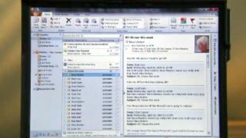 Microsoft-Präsentation von Office 2010 - Outlook