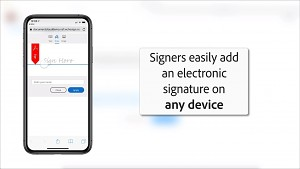 Send for Signature in Dropbox (englisch)