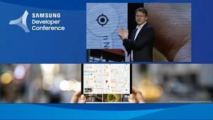 Samsung zeigt faltbares Display (SDC 2018)