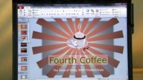 Microsoft-Präsentation von Office 2010 - Power Point