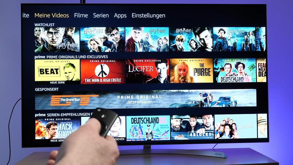 Amazons Fire TV Stick 4K - Test