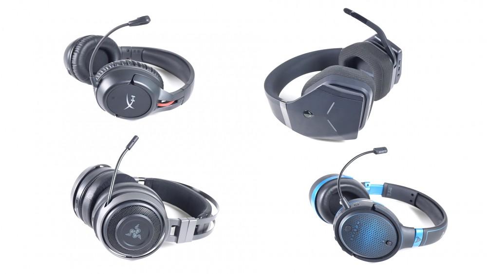 Vier drahtlose Gaming-Headsets im Test