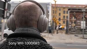 Geräuschunterdrückung Sony WH-1000 Serie im Vergleich