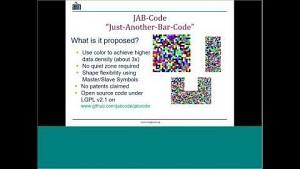 JAB Code vorgestellt (englisch)