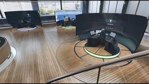 Kontrollzentrum für Schiffe - Rolls Royce