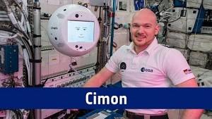 Roboter Cimon auf der ISS mit Alexander Gerst - Esa
