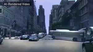 Nvidia rendert Stadt mit Machine Learning (englisch)
