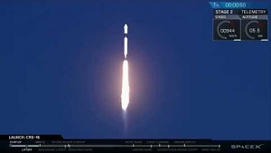 Falcon 9 erleidet Bruchlandung (SpaceX)