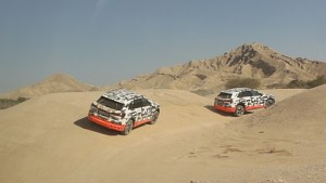 Offroad mit dem Audi E-Tron