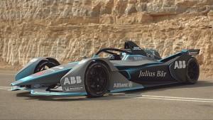 ABB FIA Formel E - Trailer mit Felipe Massa