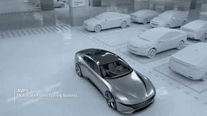 Automatisiertes Parken und Laden - Hyundai