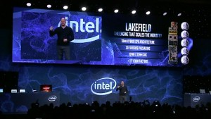 Intel zeigt Lakefield-Design (CES 2019)