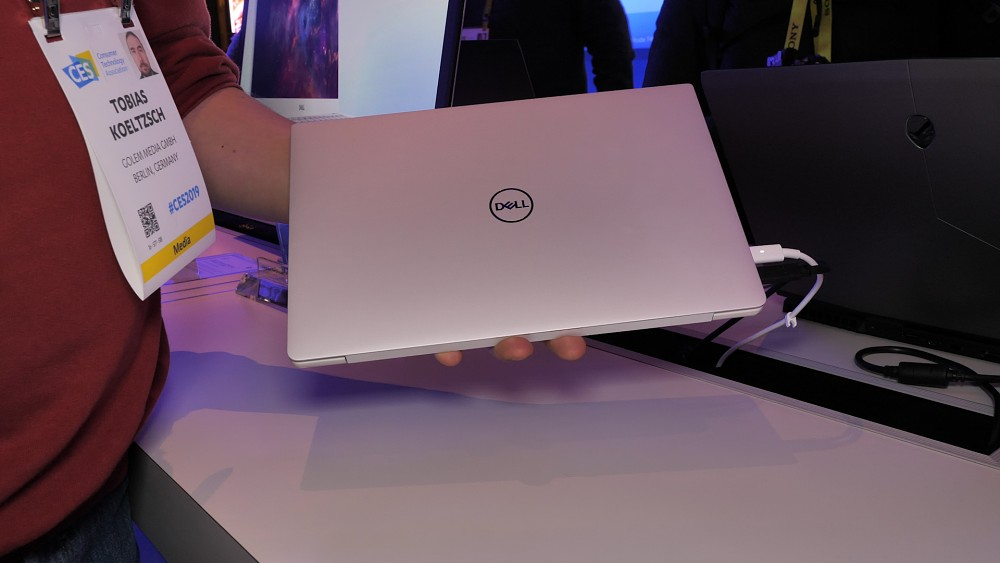 Dell XPS 13 (9380) - Hands on (CES 2019)