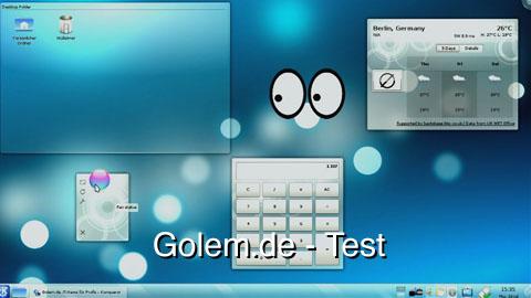 KDE 4.3 - Test