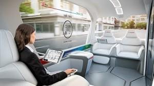 Bosch IOT Shuttle - Herstellervideo (CES 2019)