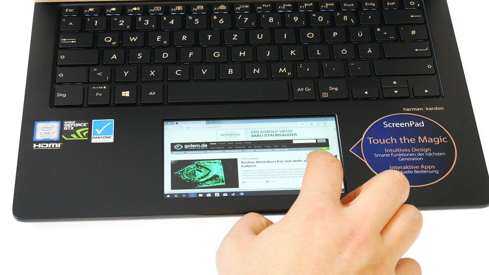 Asus Zenbook Pro 14 - Test