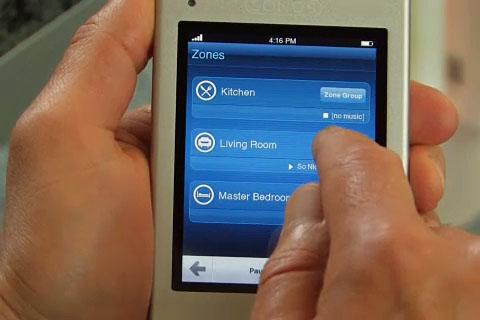 Sonos stellt seine ZonePlayer und den neuen Controller CR200 vor (Quelle Sonos)