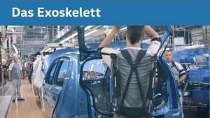 Exoskelett Paexo im Einsatz bei VW
