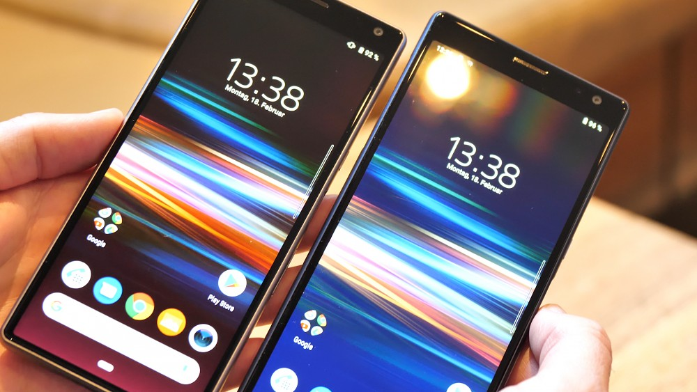 Sony Xperia 10 Plus - Hands on (MWC 2019)
