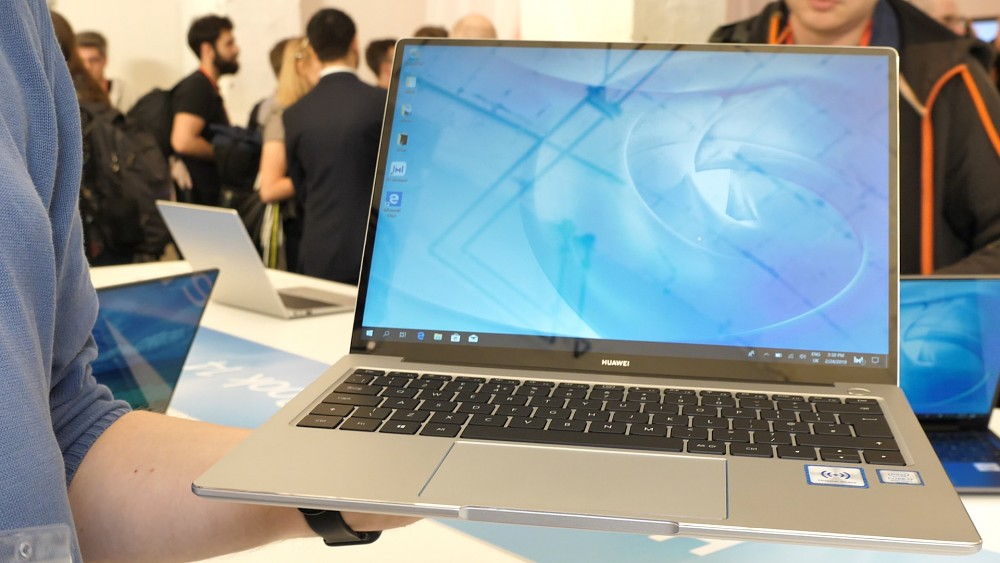 Huawei Matebook 14 - Hands on (MWC 2019)