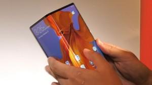 Huawei Mate X angesehen (MWC 2019)