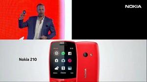 HMD zeigt das Nokia 210 (MWC 2019)