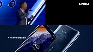 HMD zeigt das Nokia 9 Pureview (MWC 2019)