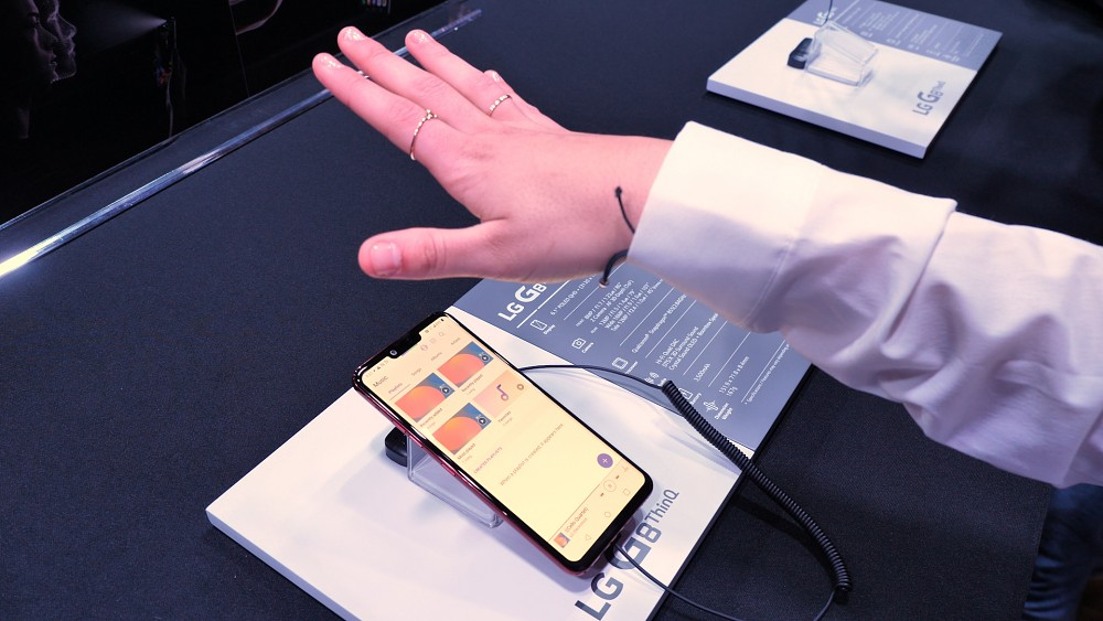 LG G8 Thinq - Hands on (MWC 2019)