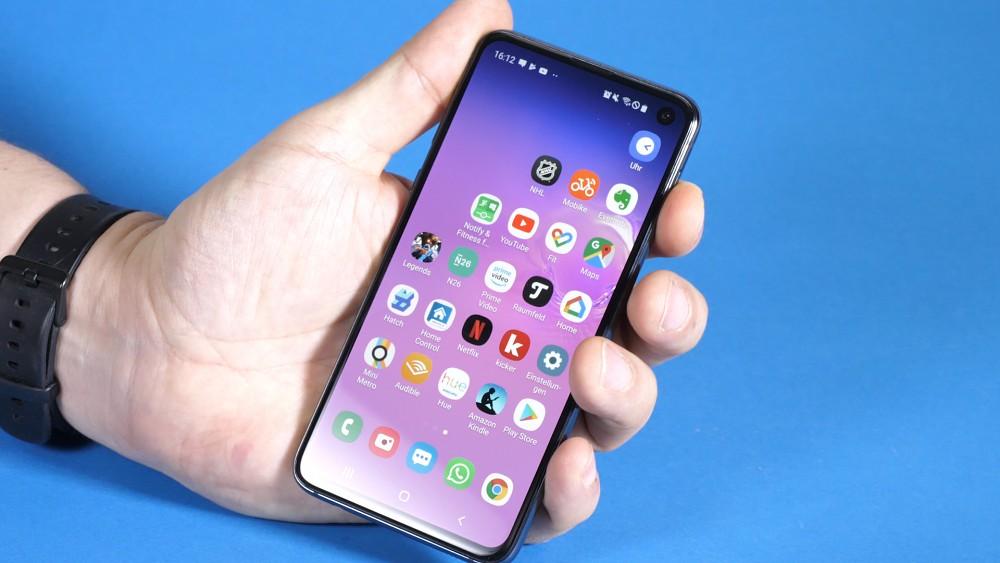 Samsung Galaxy S10e - Test