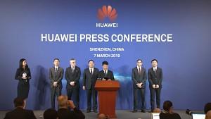 Huawei Pressekonferenz zu Spionagevorwürfen (englisch)