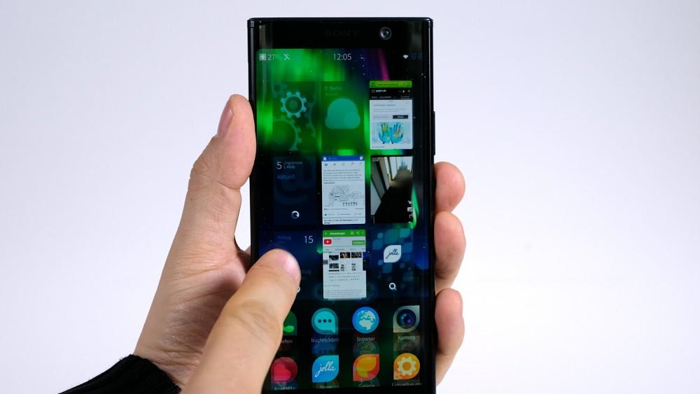 Sailfish OS auf dem Sony Xperia XA2 Plus ausprobiert