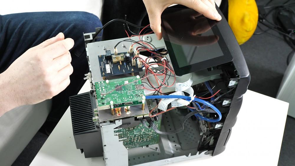 Kompaktanlage mit Raspi vernetzt
