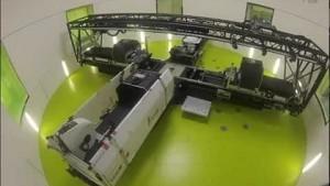 Aufbau der Kurzarmzentrifuge - DLR