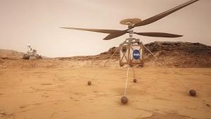 Ein Helikopter für den Mars - Nasa