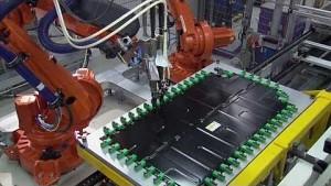Batteriemontage bei BMW (Firmenvideo)