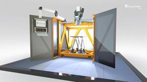 Highspeed-3D-Drucker (Herstellervideo)