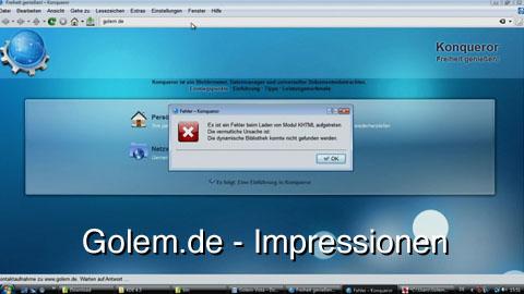 KDE 4.3 für Windows - Impressionen