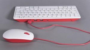 Maus und Tastatur für den RaspberryPi - Test