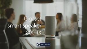 Gigaset L800HX - Alexa-Lautsprecher mit Anruffunktion - Trailer