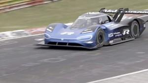 ID. R auf der Nürburgring-Nordschleife (Firmenvideo)