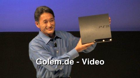 Vorstellung der Playstation 3 Slim auf der Gamescom 2009