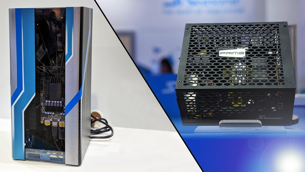 Seasonic TX-700 Fanless und The First - Hands on (Computex 2019)
