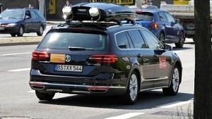 Linksabbiegen mit autonomen Autos - Bericht