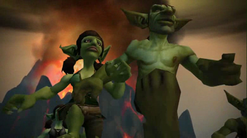 World of Warcraft Cataclysm - Announcement-Trailer von der Blizzcon 2009