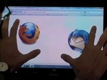 Firefox mit Multitouch-Unterstützung