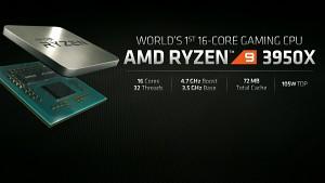 AMD präsentiert Ryzen 9 3950X (E3 2019)