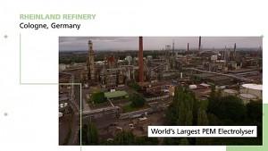 Refhyne plant weltweit größte Wasserstoff-Raffinerie (Firmenvideo)