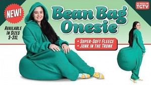 Thinkgeek Bean Bag Onesie (Werbevideo)