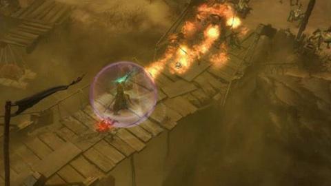 Diablo 3 - Spielszenen vom Mönch