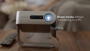 ViewSonic M1 WiFi Bluetooth Projector (Trailer)